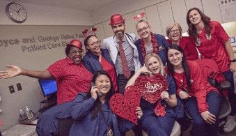 Asst. Prof. Salim S. Hayek with his team at the Frankel Cardiovascular Center, University of Michigan, Ann Arbor.