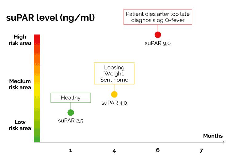 Graph over Patient Case 1